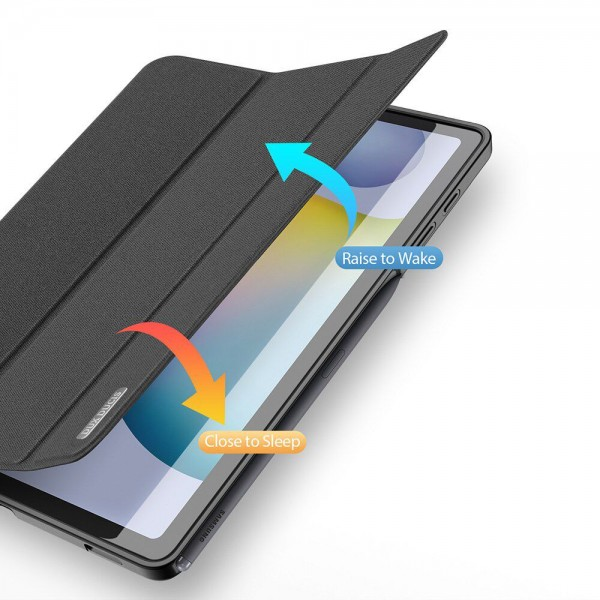 Husa Tableta Duxducis Smartcase Samsung Galaxy Tab S6 Lite 10.4inch Model P610/p615 ,negru imagine itelmobile.ro 2021