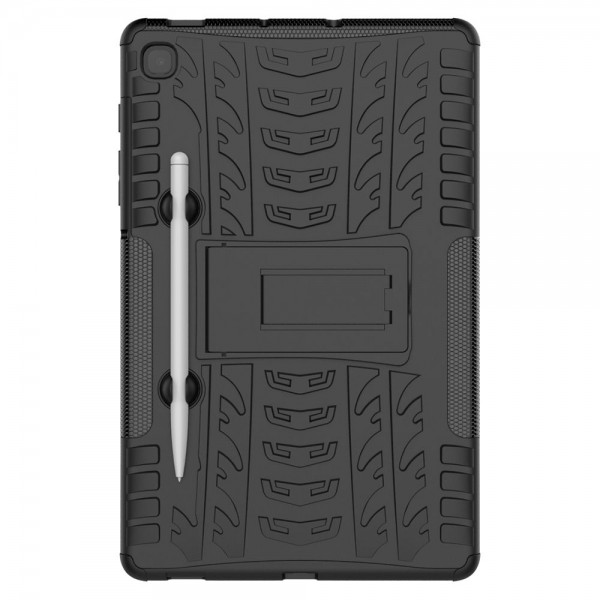 Husa Tableta Upzz Protect Armorlock Samsung Galaxy Tab S6 Lite 10.4inch Model P610/p615, Negru imagine itelmobile.ro 2021