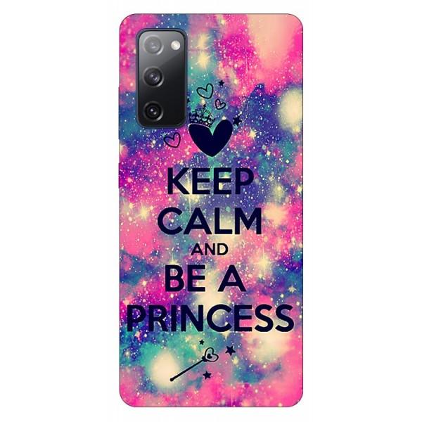 Husa Silicon Soft Upzz Print Samsung Galaxy S20 Fe Model Be Princess imagine itelmobile.ro 2021