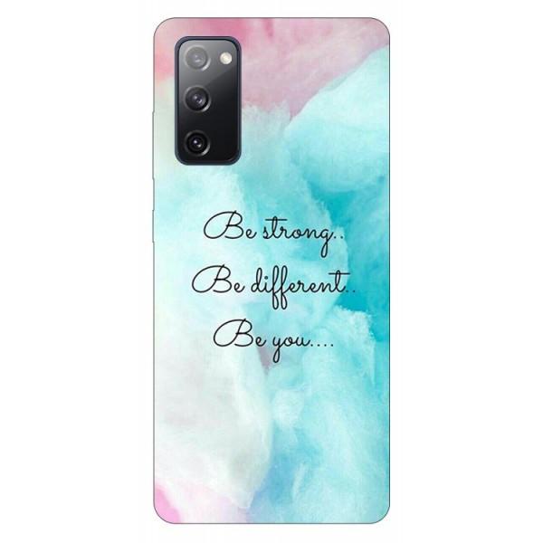 Husa Silicon Soft Upzz Print Samsung Galaxy S20 Fe Model Be You imagine itelmobile.ro 2021