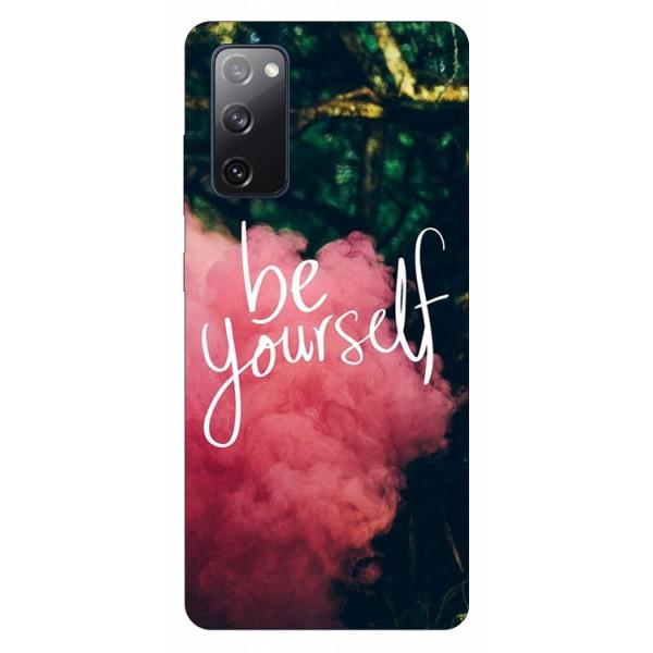 Husa Silicon Soft Upzz Print Samsung Galaxy S20 Fe Model Be Yourself imagine itelmobile.ro 2021