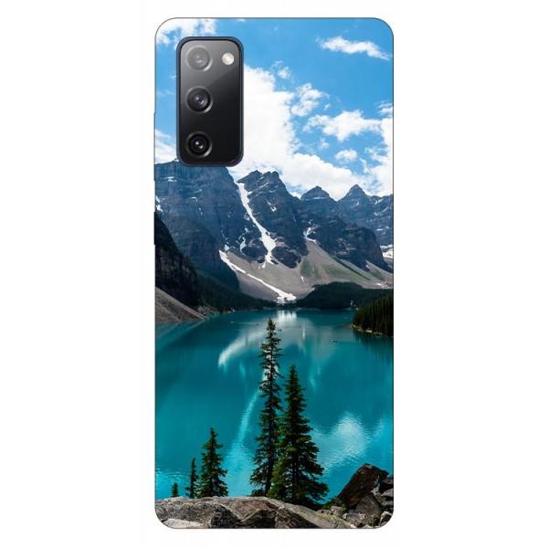 Husa Silicon Soft Upzz Print Samsung Galaxy S20 Fe Model Blue imagine itelmobile.ro 2021