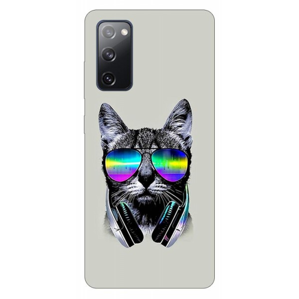 Husa Silicon Soft Upzz Print Samsung Galaxy S20 Fe Model Cat imagine itelmobile.ro 2021