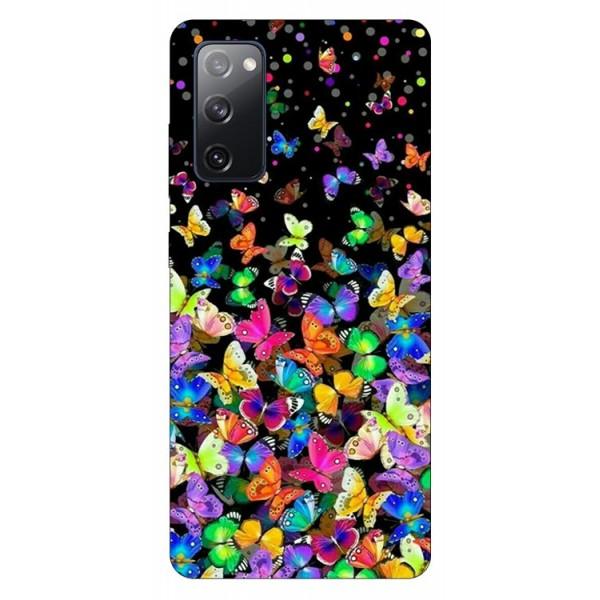 Husa Silicon Soft Upzz Print Samsung Galaxy S20 Fe Model Colorature imagine itelmobile.ro 2021