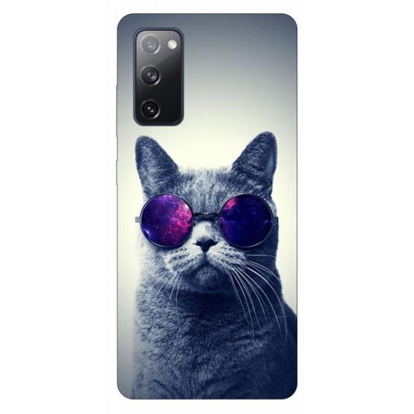 Husa Silicon Soft Upzz Print Samsung Galaxy S20 Fe Model Cool Cat imagine itelmobile.ro 2021