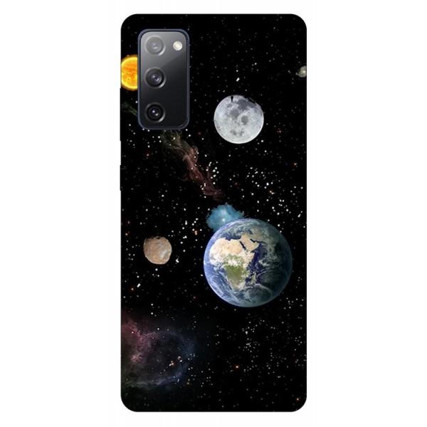 Husa Silicon Soft Upzz Print Samsung Galaxy S20 Fe Model Earth imagine itelmobile.ro 2021