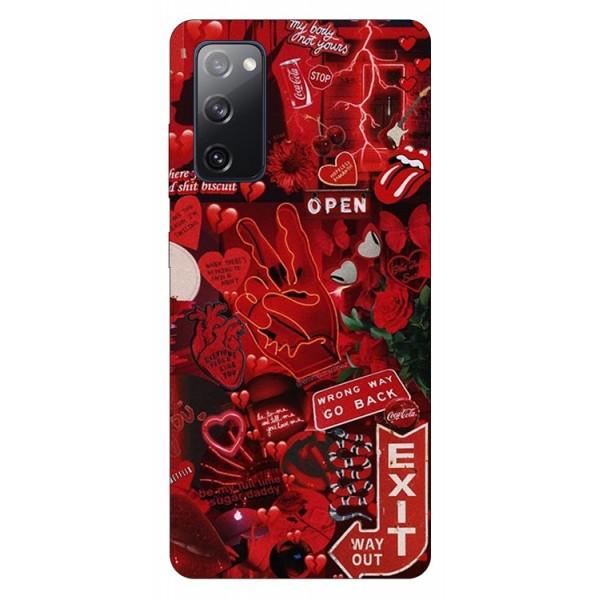 Husa Silicon Soft Upzz Print Samsung Galaxy S20 Fe Model Exit imagine itelmobile.ro 2021