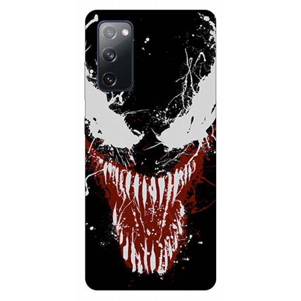 Husa Silicon Soft Upzz Print Samsung Galaxy S20 Fe Model Monster imagine itelmobile.ro 2021