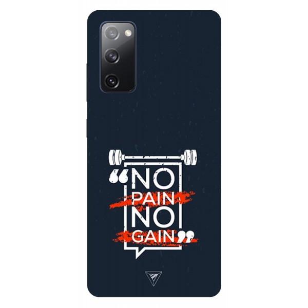 Husa Silicon Soft Upzz Print Samsung Galaxy S20 Fe Model Pain imagine itelmobile.ro 2021