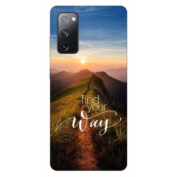 Husa Silicon Soft Upzz Print Samsung Galaxy S20 Fe Model Way imagine itelmobile.ro 2021