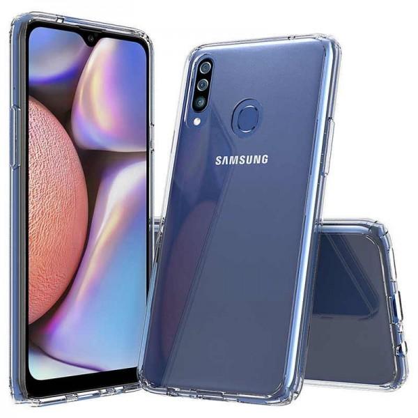 Husa Slim Upzz Tech Compatibila Cu Samsung Galaxy A20s, Transparenta Slim Silicon imagine itelmobile.ro 2021