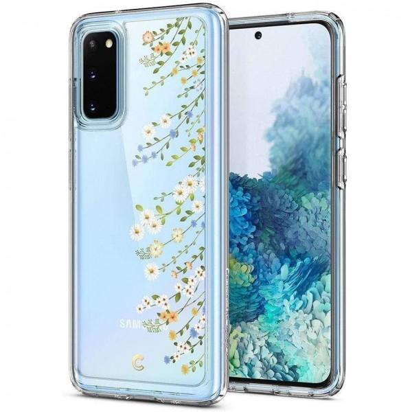 Husa Premium Spigen Ciel Pentru Samsung Galaxy S20 ,spring Garden imagine itelmobile.ro 2021