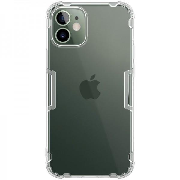 Husa Slim Premium Nillkin Nature iPhone 12 Mini , Transparenta imagine itelmobile.ro 2021