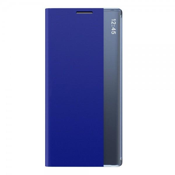Husa Flip Cover Upzz Sleep Compatibila Cu Samsung Galaxy Note 10 Lite , Albastru imagine itelmobile.ro 2021