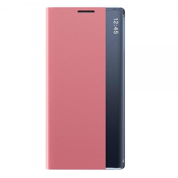 Husa Flip Cover Upzz Sleep Compatibila Cu Samsung Galaxy A51 , Roz imagine itelmobile.ro 2021