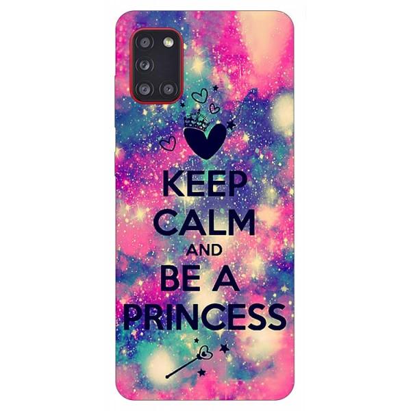 Husa Silicon Soft Upzz Print Samsung Galaxy A31 Model Be Princess imagine itelmobile.ro 2021