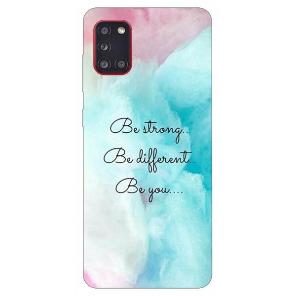Husa Silicon Soft Upzz Print Samsung Galaxy A31 Model Be You imagine itelmobile.ro 2021