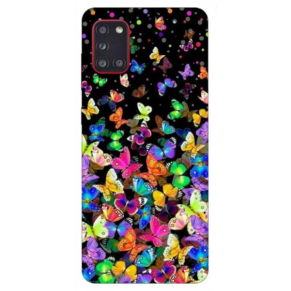 Husa Silicon Soft Upzz Print Samsung Galaxy A31 Model Colorature imagine itelmobile.ro 2021