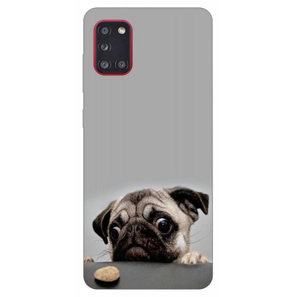 Husa Silicon Soft Upzz Print Samsung Galaxy A31 Model Dog imagine itelmobile.ro 2021