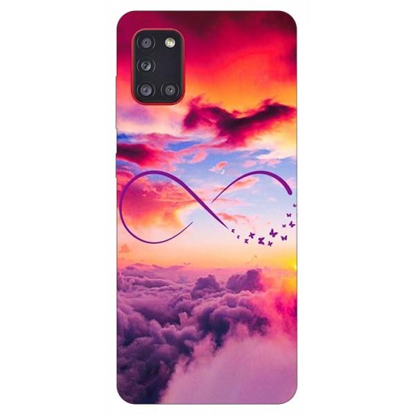 Husa Silicon Soft Upzz Print Samsung Galaxy A31 Model Infinity imagine itelmobile.ro 2021