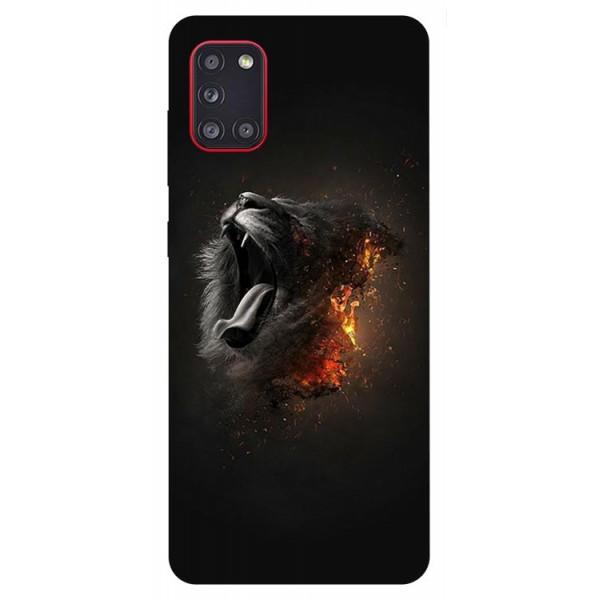 Husa Silicon Soft Upzz Print Samsung Galaxy A31 Model Lion imagine itelmobile.ro 2021