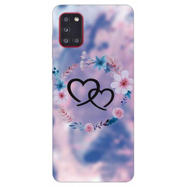 Husa Silicon Soft Upzz Print Samsung Galaxy A31 Model Love imagine itelmobile.ro 2021