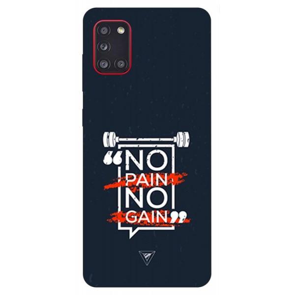 Husa Silicon Soft Upzz Print Samsung Galaxy A31 Model Pain imagine itelmobile.ro 2021