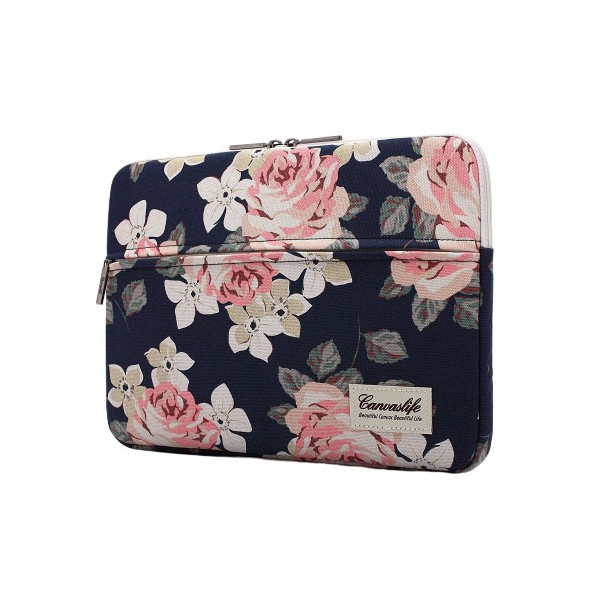 Husa Upzz Tech Canvaslife Sleeve Compatibila Cu Laptop / Macbook 15-16 Inch Rose imagine itelmobile.ro 2021