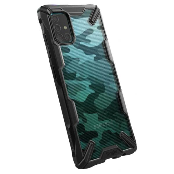 Husa Premium Ringke Fusion Samsung Galaxy M31s, Camo imagine itelmobile.ro 2021