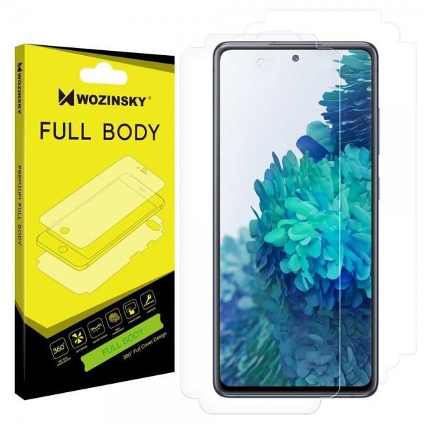 Folie Fata - Spate Wozinsky Hydrogel Regenerabila Samsung Galaxy S20 Fe -functioneaza Amprenta imagine itelmobile.ro 2021
