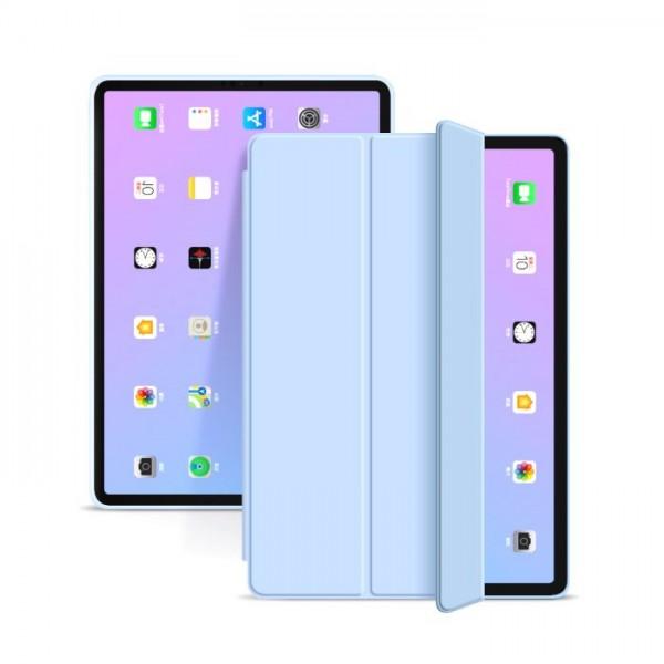 Husa Upzz Tech Smartcase Ipad Air 4 2020 ,albastru Sky imagine itelmobile.ro 2021