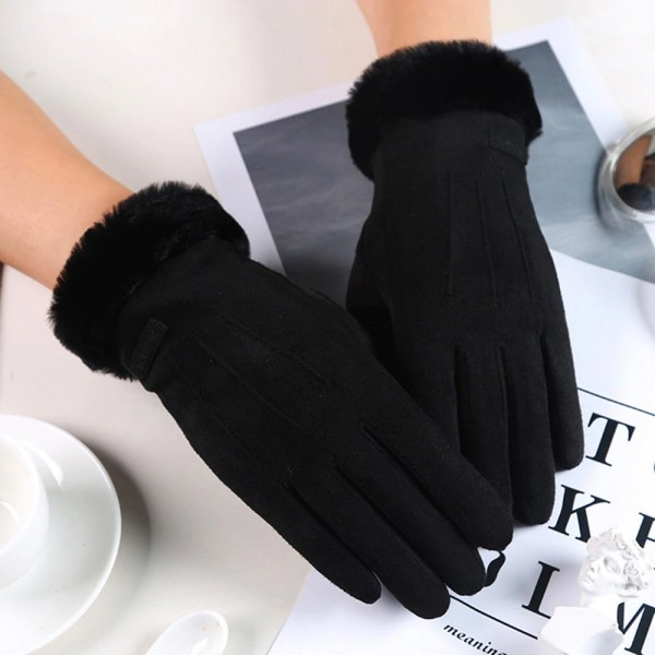 Manusi Touchscreen Upzz Soft Winter - Negru