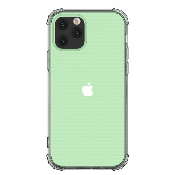 Husa Premium Upzz Woz Crystal Armor iPhone 12 / iPhone 12 Pro ,transparenta Cu Tehnologie Air Cushion imagine itelmobile.ro 2021