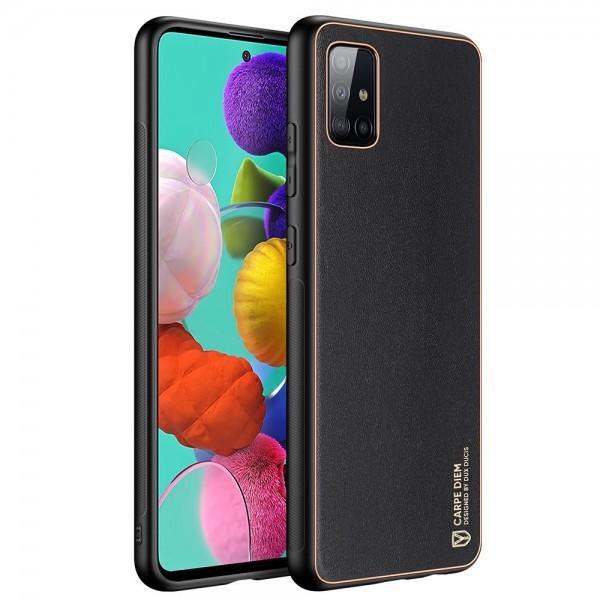 Husa Premium Duxducis Yolo Pentru Samsung Galaxy A51, Negru imagine itelmobile.ro 2021
