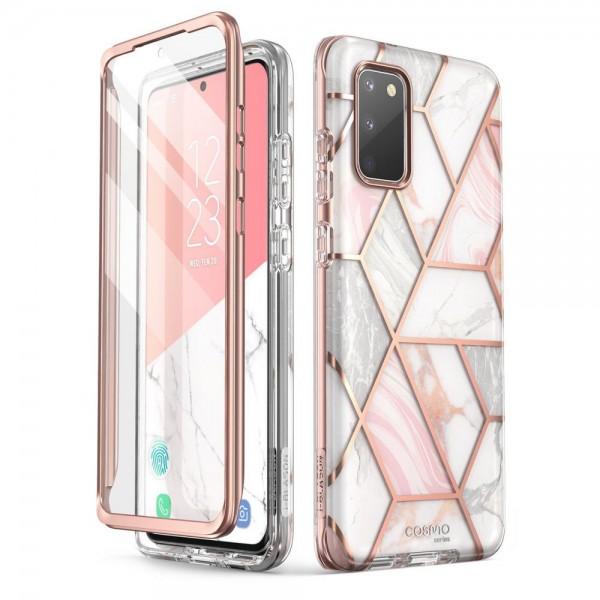 Husa Premium Supcase Cosmo Pentru Samsung Galaxy S20 Fe, Marble imagine itelmobile.ro 2021