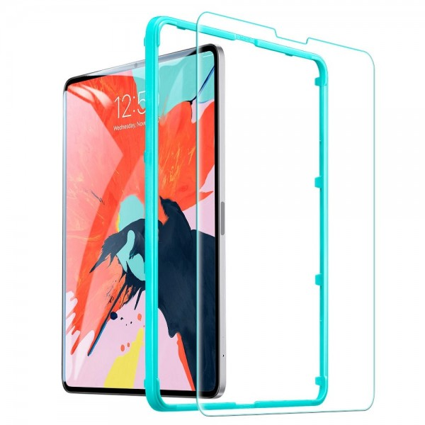 Folie Sticla Securizata Premium Esr Glass Pentru Ipad 11 Pro 2018 / Ipad Air 4 2020, Transparenta imagine itelmobile.ro 2021