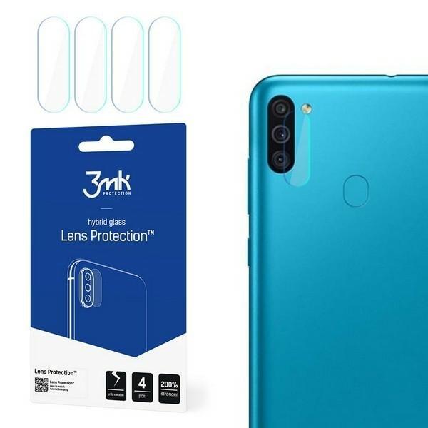 Set 4 X Folie Sticla Nano Glass 3mk Pentru Camera Samsung Galaxy M11. Transparenta imagine itelmobile.ro 2021