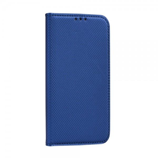 Husa Flip Cover Upzz Smart Case Pentru Huawei P40 Lite 5g, Albastru Navy imagine itelmobile.ro 2021