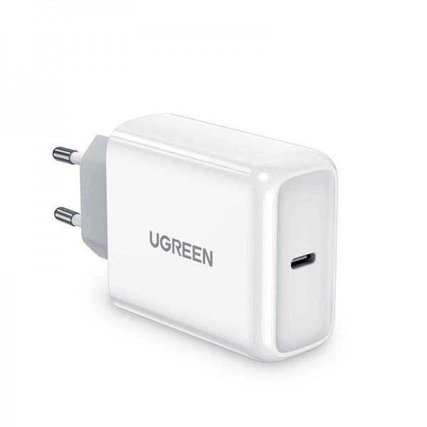 Incarcator Retea Ugreen Fast Charger Cu Port Type-c 45w ,compatibil Cu iPhone 12 /12 Pro / 12 Pro Max ,samsung ,huawei, Alb imagine itelmobile.ro 2021