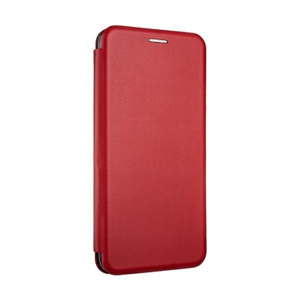 Husa Flip Carte Cu Magnet Lux Upzz Xiaomi Redmi Note 9, Rosu imagine itelmobile.ro 2021