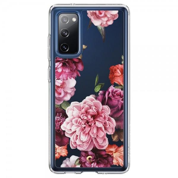 Husa Premium Originala Spigen Cyrill Cecile Compatibil Cu Samsung Galaxy S20 Fe, Rose Floral imagine itelmobile.ro 2021