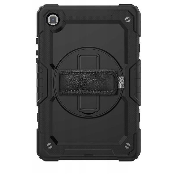 Husa Tableta Upzz Tech Solid 360 Compatibila Cu Samsung Galaxy Tab A7 10.4inch, Model T500/t505, Negru imagine itelmobile.ro 2021