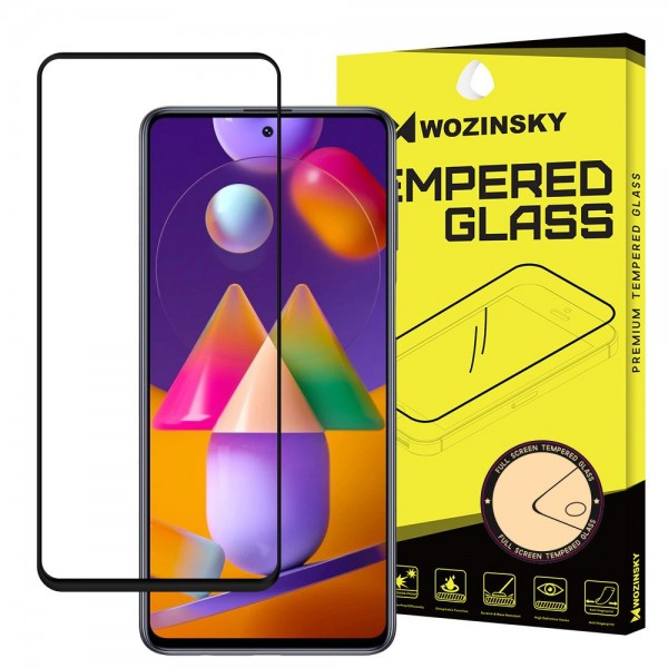 Folie Sticla Wozinky Samsung Galaxy M31s, Cu Adeziv Pe Toata Suprafata Folie Neagra imagine itelmobile.ro 2021