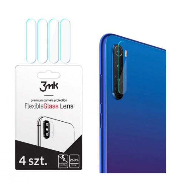 Set 4 Buc Folie Sticla Nano Glass Pentru Camera 3mk Xiaomi Redmi 8t, Transparenta imagine itelmobile.ro 2021