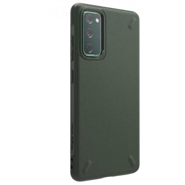 Husa Premium Ringke Onyx Pentru Samsung Galaxy S20 Fe, Silicon, Ultra Rezistent, Verde imagine itelmobile.ro 2021