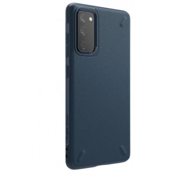 Husa Premium Ringke Onyx Pentru Samsung Galaxy S20 Fe, Silicon, Ultra Rezistent, Albastru imagine itelmobile.ro 2021