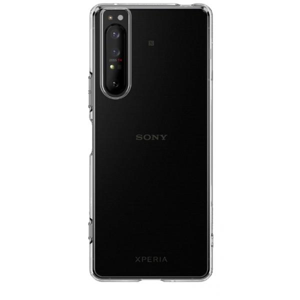 Husa Spate Silicon Ultra Slim Upzz Compatibila Cu Sony Experia 1 Ii, Transparenta imagine itelmobile.ro 2021