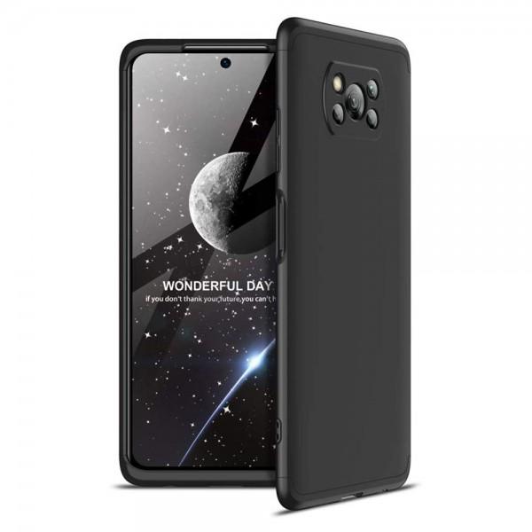 Husa 360 Grade Upzz Protection Xiaomi Poco X3 Nfc -negru imagine itelmobile.ro 2021