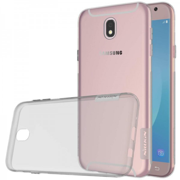 Husa Slim Nillkin Nature Samsung J7 2017 Fumurie imagine itelmobile.ro 2021