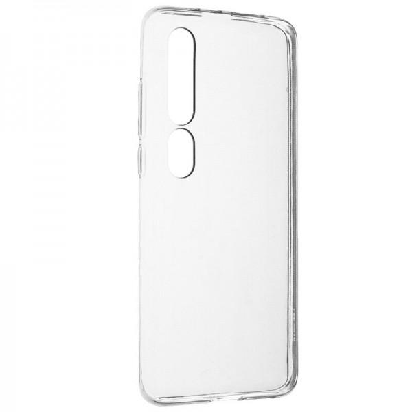 Husa Ultra Slim Upzz 0.5mm Grosime Xiaomi Mi 10 Lite, Silicon, Transparenta imagine itelmobile.ro 2021